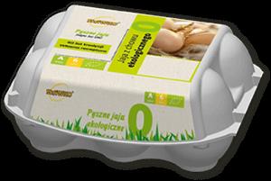 Sławko - jaja z chowu ekologicznego 6szt