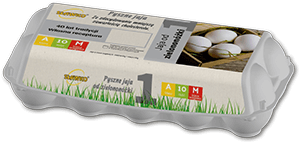 Sławko - menu - jaja od zielononóżki