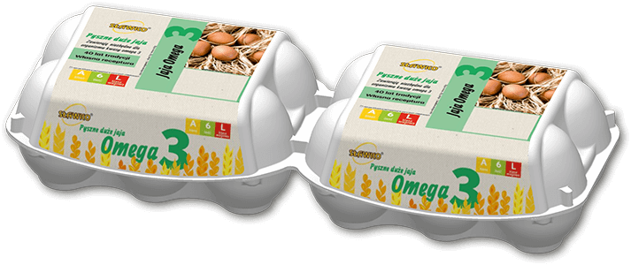 Sławko - oferta - jaja omega 3