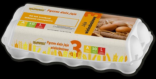 Sławko - oferta - jaja wielozbożowe