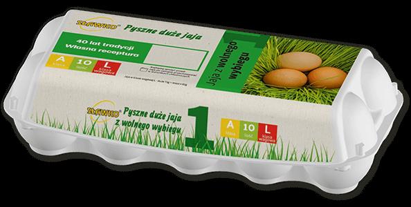 Sławko - oferta - jaja z wolnego wybiegu