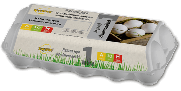 Sławko - oferta - jaja od zielononóżki