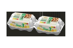 Sławko - jaja omega 3
