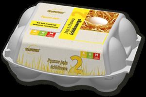 Sławko - jaja z chowu ściółkowego 6szt