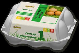 Sławko - jaja z wolnego wybiegu 6szt