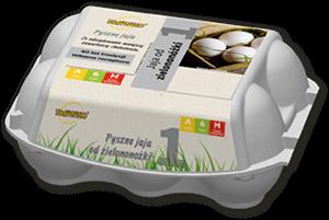 Sławko - jaja od zielononóżki 6szt